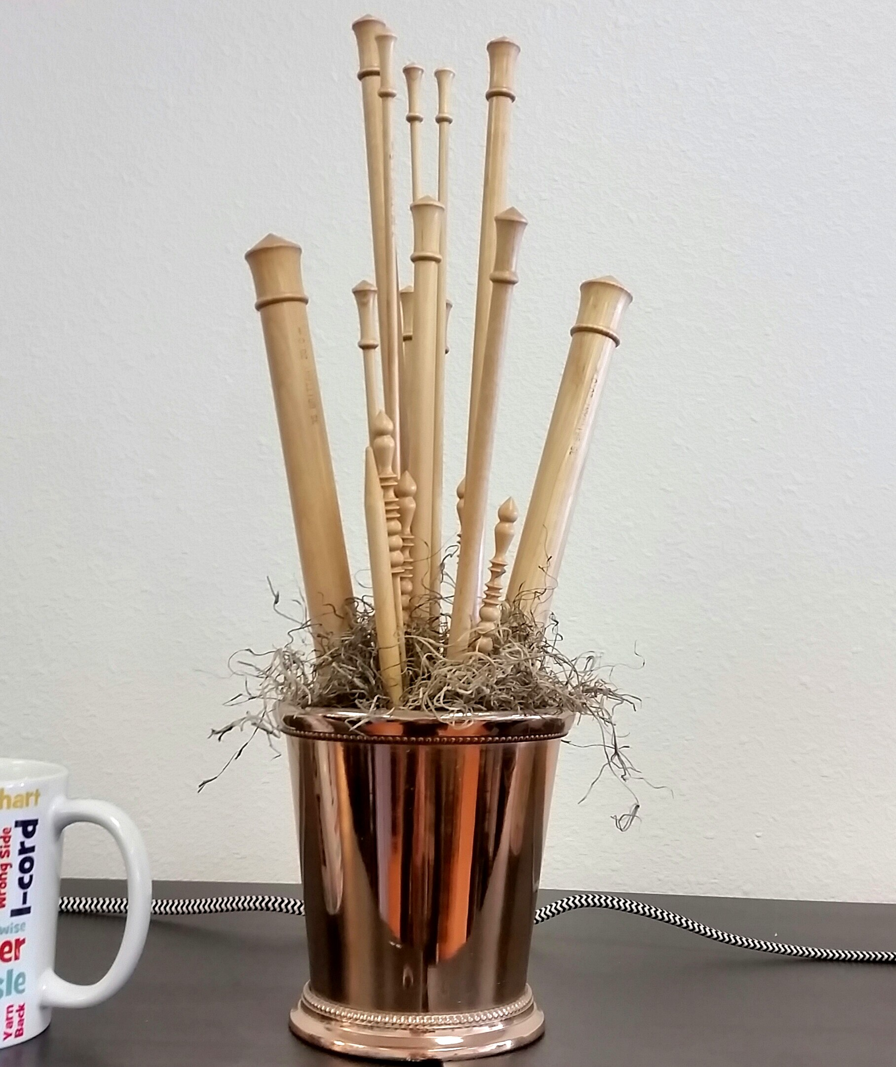 A needle bouquet in one of our LYSs